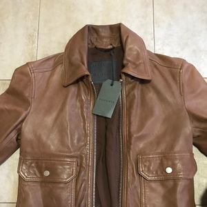 Jackets & Blazers - Allsaints leather jacket